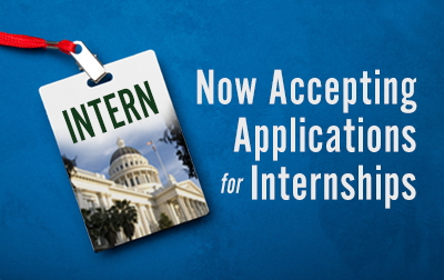 Now Accepting Applications for Internship