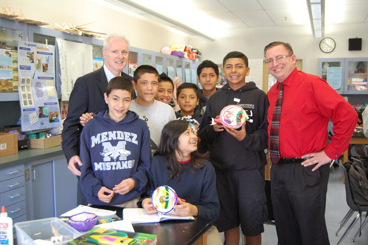 Assemblymember Daly Serves As Principal For A Day At