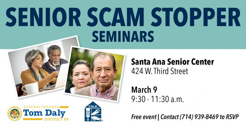 Santa Ana Senior Scam Stopper